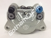 Ducati Brembo P34 Rear Brake Caliper Side Inlet and Bleed Silver: 1199, 848-1198, 749/999, SF, Hyper, MTS, Monster, ST 110279720