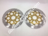 Ducati Brembo Snowflake Front Brake Discs Rotors: 748-998, ST, Monster, SS 110279720