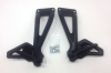 Ducati Passenger Foot Pegs Black: Monster S2R/S4R/S4RS 82410701A 82410691A
