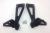Ducati Passenger Foot Pegs Black: Monster S2R/S4R/S4RS
