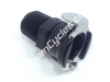 Ducati Gas Tank Fuel Pump Quick Release Black Female Fitting: 748-998 Triumph_BSPT