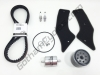 Ducati Full Service Kit - Timing Belts, Spark Plugs, Air/Fuel/Oil Filters: 998/998S 74840331A 76640172A