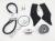 Ducati Full Service Kit - Timing Belts, Spark Plugs, Air/Fuel/Oil Filters: 2002 748