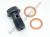 Ducati Brembo Front/Rear Brake Caliper Clutch Master Cylinder Single Banjo Bolt: M10 x 1.0