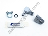 "Chrome Plated Brass Metal Gas Tank Fuel Pump Quick Release Disconnect Set 5/16"": BMW R1200GSW/RTW/RW/RSW, S1000R/RR/XR CR1150GSA"