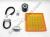 Ducati Full Service Kit - Timing Belts, Spark Plugs, Fuel/Oil Filters: 1998-2002 900SS