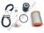 Ducati Full Service Kit - Timing Belts, Spark Plugs, Air/Fuel/Oil Filters: Hypermotard 1100 EVO