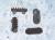 Ducati Seat Rubber Pads: 748-998